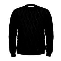 Black Pattern Men s Sweatshirt