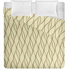 Elegant Pattern Duvet Cover Double Side (king Size) by Valentinaart