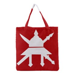 Flag Of The Myanmar Army Grocery Tote Bag by abbeyz71