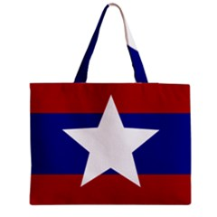 Flag Of The Bureau Of Special Operations Of Myanmar Army Medium Tote Bag by abbeyz71
