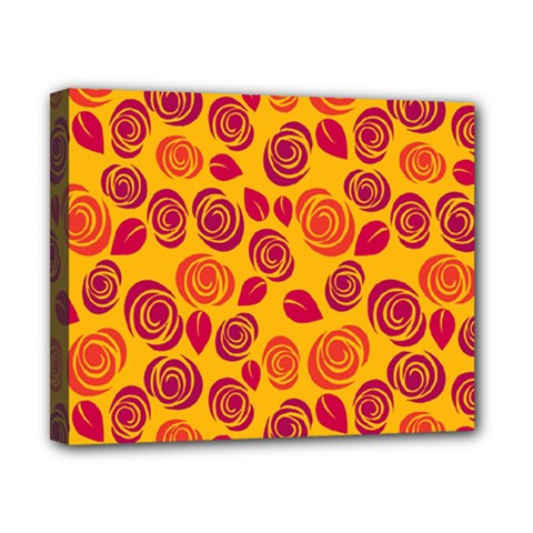 Orange Roses Canvas 10  X 8  by Valentinaart
