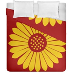 Flag Of Myanmar Army Eastern Command Duvet Cover Double Side (california King Size) by abbeyz71