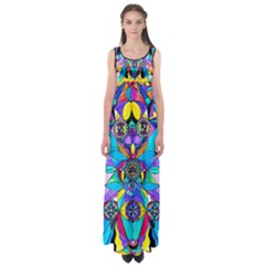 The Cure - Empire Waist Maxi Dress by tealswan