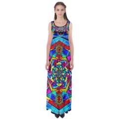 Gratitude   Empire Waist Maxi Dress by tealswan
