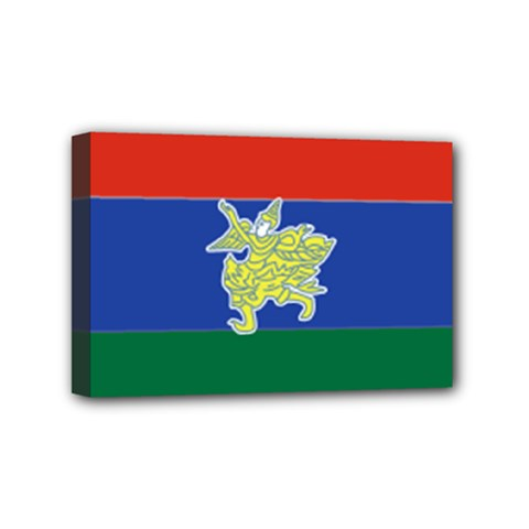 Flag Of Myanmar Kayah State Mini Canvas 6  X 4  by abbeyz71