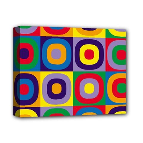 Kandinsky Circles Deluxe Canvas 14  X 11