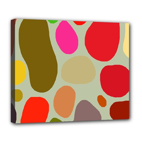 Pattern Design Abstract Shapes Deluxe Canvas 24  X 20