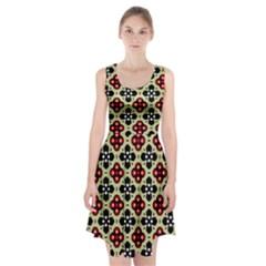 Seamless Tileable Pattern Design Racerback Midi Dress by Nexatart