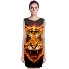 Tiger Classic Sleeveless Midi Dress