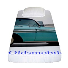 1958 Oldsmobile Super 88 J2 2a Fitted Sheet (single Size) by Jeannel1