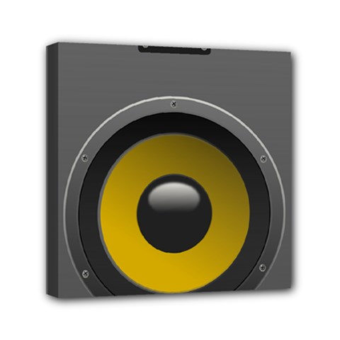 Audio Loadspeaker Activ Mini Canvas 6  X 6