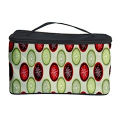 Christmas Pattern Cosmetic Storage Case by Nexatart