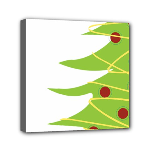 Christmas Tree Christmas Mini Canvas 6  X 6