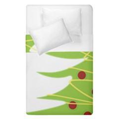Christmas Tree Christmas Duvet Cover Double Side (single Size) by Nexatart