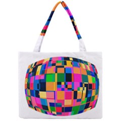 Color Focusing Screen Vault Arched Mini Tote Bag by Nexatart