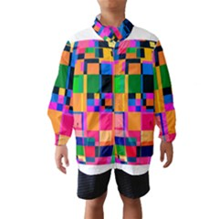 Color Focusing Screen Vault Arched Wind Breaker (kids) by Nexatart