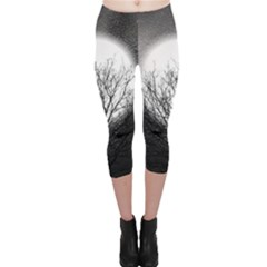 Starry Sky Capri Leggings  by theunrulyartist