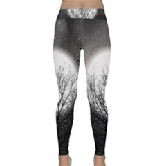 Starry Sky Classic Yoga Leggings by theunrulyartist