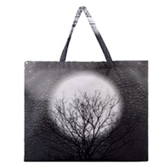Starry Sky Zipper Large Tote Bag