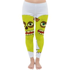 Monster Troll Halloween Shudder Classic Winter Leggings