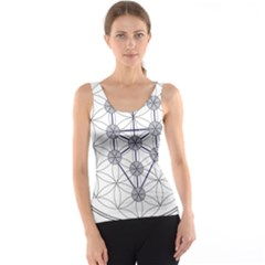 Tree Of Life Flower Of Life Stage Tank Top by Nexatart