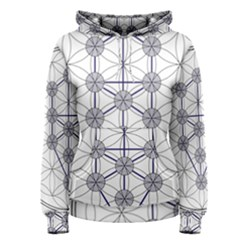 Tree Of Life Flower Of Life Stage Women s Pullover Hoodie by Nexatart