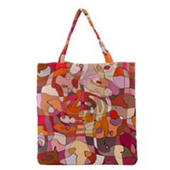 Abstract Abstraction Pattern Modern Grocery Tote Bag