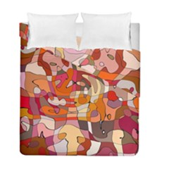 Abstract Abstraction Pattern Modern Duvet Cover Double Side (full/ Double Size) by Nexatart