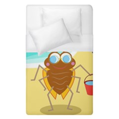 Animal Nature Cartoon Bug Insect Duvet Cover (single Size) by Nexatart