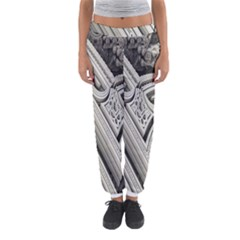 Arches Fractal Chaos Church Arch Women s Jogger Sweatpants