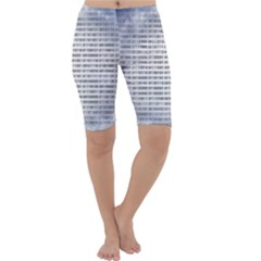 Binary Computer Technology Code Cropped Leggings