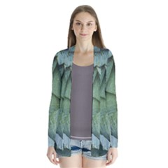 Bright Cabbage Color Dew Flora Cardigans by Nexatart