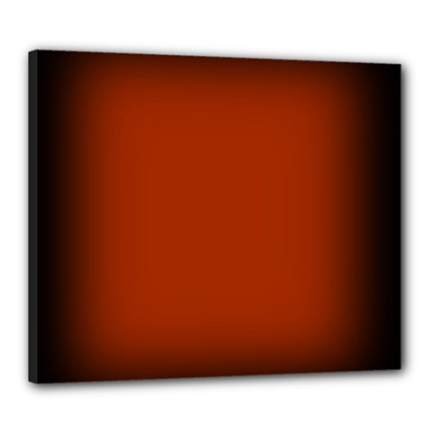 Brown Gradient Frame Canvas 24  X 20  by Nexatart