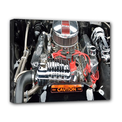 Car Engine Deluxe Canvas 20  X 16