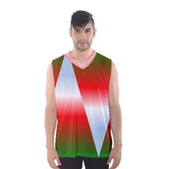 Christmas Pattern Men s Basketball Tank Top by Nexatart