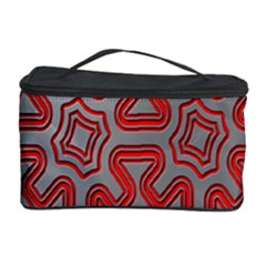 Christmas Wrap Pattern Cosmetic Storage Case by Nexatart