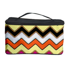 Colorful Chevron Pattern Stripes Cosmetic Storage Case