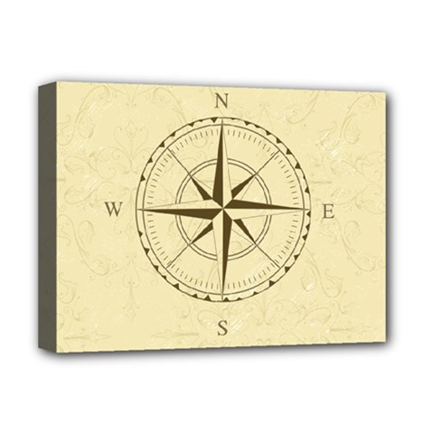 Compass Vintage South West East Deluxe Canvas 16  X 12