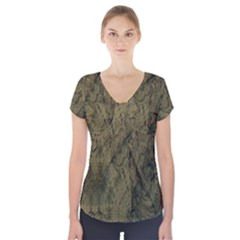 Complexity Short Sleeve Front Detail Top by Nexatart
