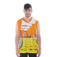 Corpus Torrenueva Procession Men s Basketball Tank Top by Nexatart
