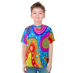 Doodle Pattern Kids  Cotton Tee