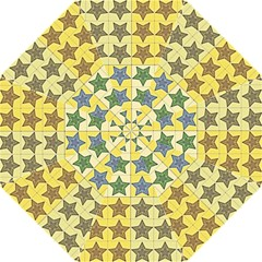 Pattern With A Stars Folding Umbrellas