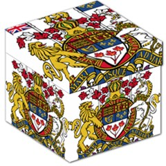 Coat Of Arms Of Canada  Storage Stool 12   by abbeyz71