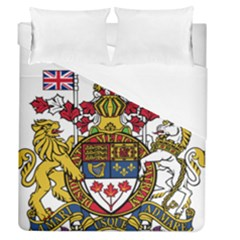 Coat of Arms of Canada  Duvet Cover (Queen Size) by abbeyz71