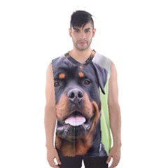 Rottweiler Men s Basketball Tank Top by TailWags