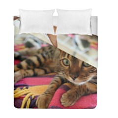 Bengal Laying Duvet Cover Double Side (Full/ Double Size) by TailWags