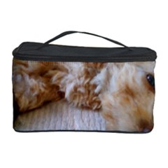 Apricot Poodle Laying Cosmetic Storage Case by TailWags