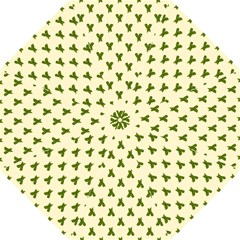 Leaf Pattern Green Wallpaper Tea Golf Umbrellas