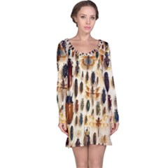 Insect Collection Long Sleeve Nightdress