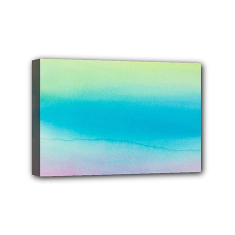 Watercolour Gradient Mini Canvas 6  X 4